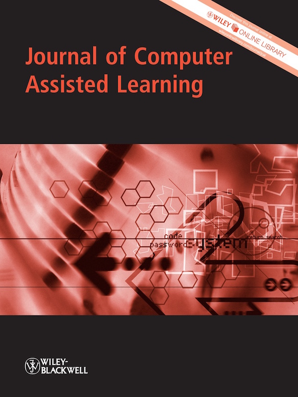 Journal of Computer Assisted Learning 30:6 Published on EdITLib