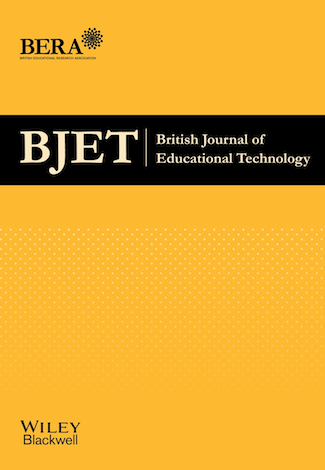 British Journal of Educational Technology 50:3 Published on LearnTechLib