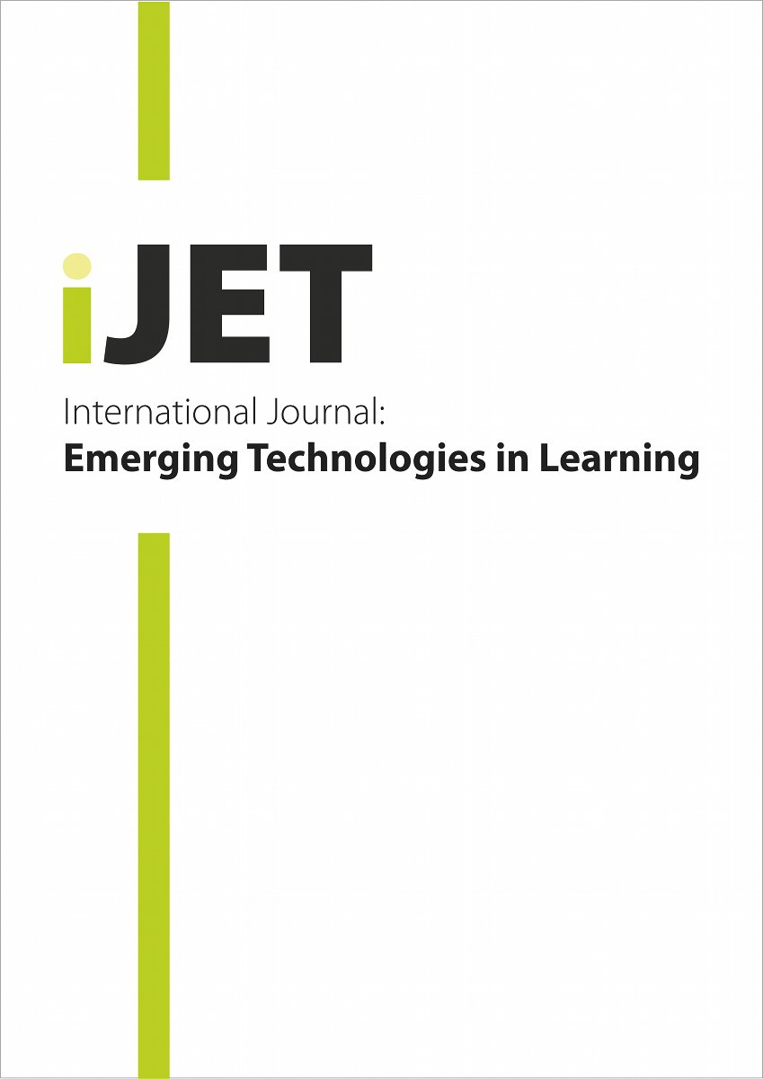 International Journal of Emerging Technologies in Learning (iJET) 14:10 Published on LearnTechLib